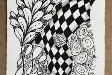 Image: Meditative Art: Introduction to Zentangle®