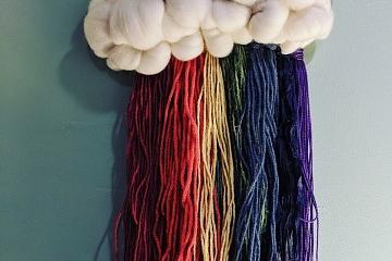 Image: Rainbow Cloud Weaving 101
