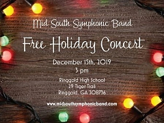 Midsouth Symphonic Band holiday concert