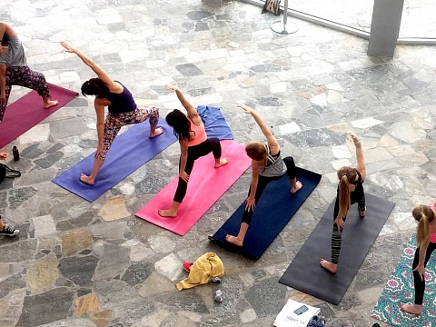 Image: Artful Yoga with Maggie White
