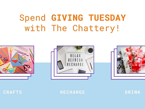 Image: Giving Tuesday at The Chattery