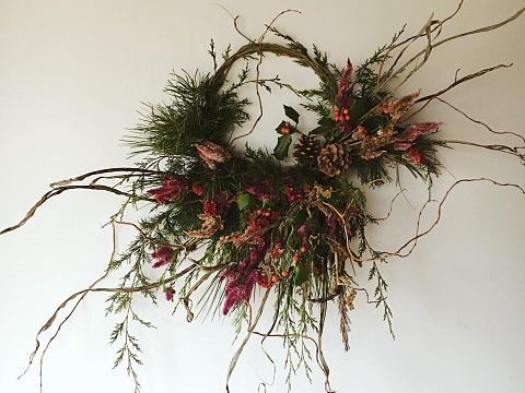Image: Festive Wreath Making: Holiday Edition