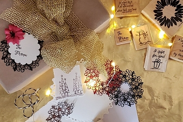 Image: Making Your Presents Pop: Holiday Tags