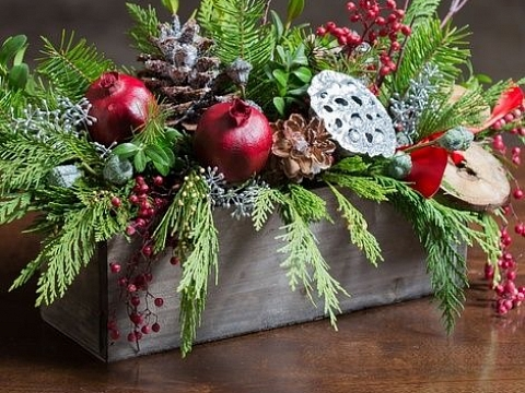 Image: The Perfect Holiday Centerpiece