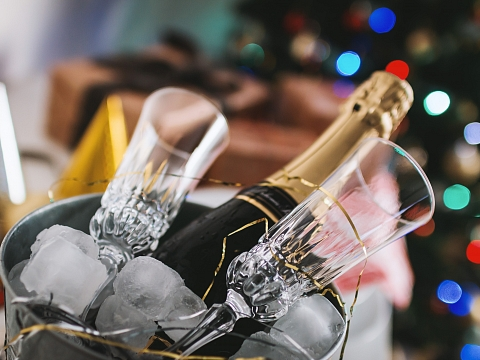 Image: NYE Champagne Cocktails