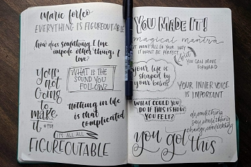 Image: Intermediate Handlettering: Note Taking