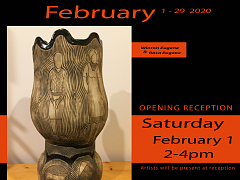 February Exhibit at River Gallery with Winton and Rosa Eugene