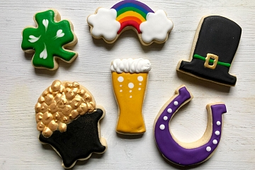 Image: Beginner Cookie Decorating: St. Patrick's Day