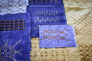 Image: Exploring Sashiko and Handstitching