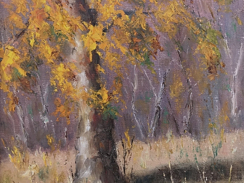 Image: Painting Trees in the Landscape
