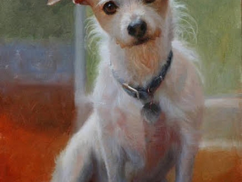 Image: All Creatures Great and Small | Pet Portrait Painting