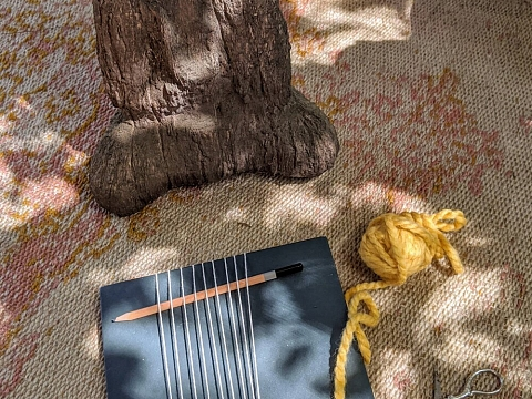 Image: Weaving for Calm – ONLINE CLASS