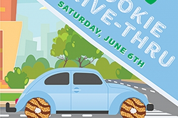 Image: Girl Scouts of the Southern Appalachians Cookie Drive-Thru