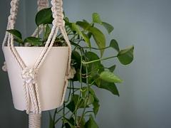 Beginner Macrame: Plant Hanger – ONLINE CLASS