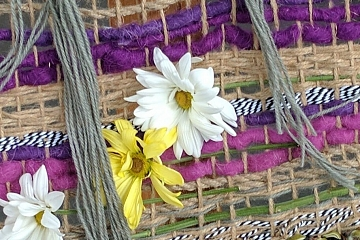 Image: Introduction to Weaving: Nature Weave – ONLINE CLASS