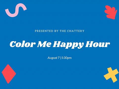 Image: Color Me Happy Hour – ONLINE CLASS