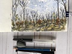 Watercolor Sketching: Landscape – ONLINE CLASS