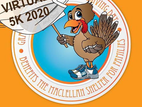 Image: 21st Annual Grateful Gobbler Virtual Walk