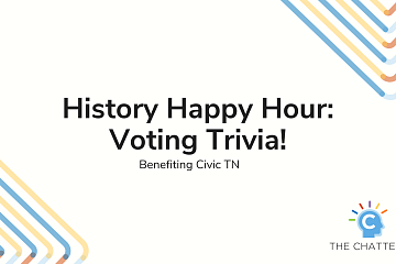 Image: History Happy Hour: Voting Trivia! – ONLINE CLASS