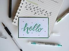 Beginner Handlettering – ONLINE CLASS