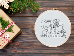 Beginner Embroidery: Holiday Hand Towels – ONLINE CLASS + SUPPLIES