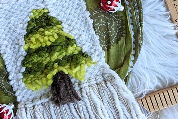 Image: Boho Holidays: Fir Tree Weaving – ONLINE CLASS