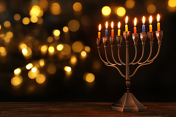 Image: History Happy Hour: The History and Mystery of Chanukah – ONLINE CLASS