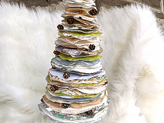 Handmade Holidays: Paper Trees – ONLINE CLASS