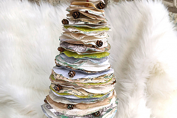 Image: Handmade Holidays: Paper Trees – ONLINE CLASS