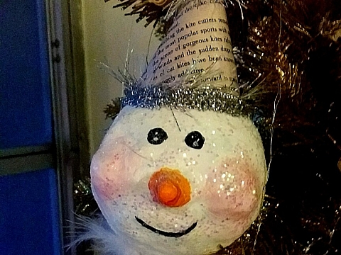 Image: Handmade Ornaments: Do You Want to Paint a Snowman? – ONLINE CLASS