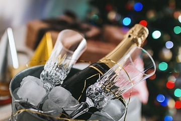 Image: NYE Champagne Cocktails – ONLINE CLASS