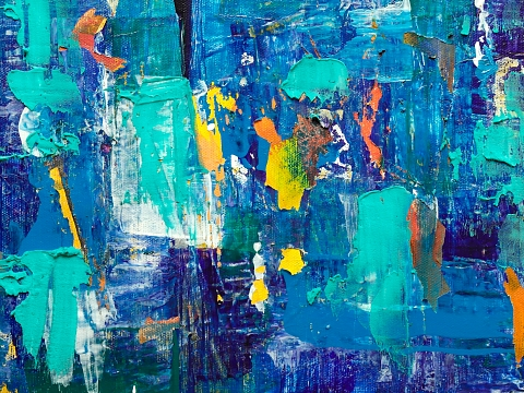 Image: Abstract Painting for All – Online Class