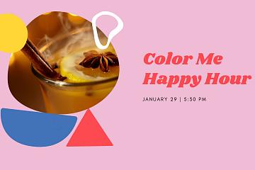 Image: Color Me Happy Hour