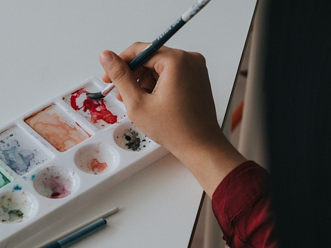 Image: Sensory Friendly Studio: Abstract Art