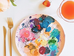 Canvas Painting: Inappropriate Tea Party – Online Class