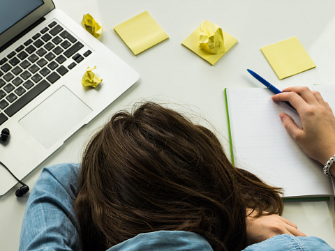 Image: Dealing with Burnout – Online Class