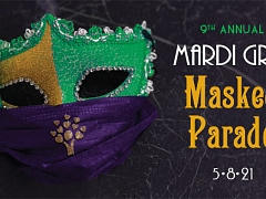 Mardi Gras Masked Parade to benefit Chambliss Center for Children