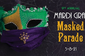 Image: Mardi Gras Masked Parade to benefit Chambliss Center for Children
