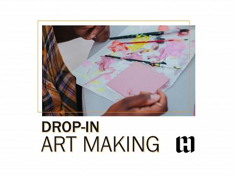 Image: Spring Break Drop-in Art Making