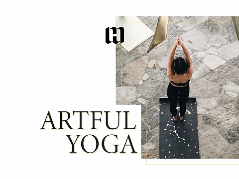 Image: Artful Yoga with Suzanne Sabourin