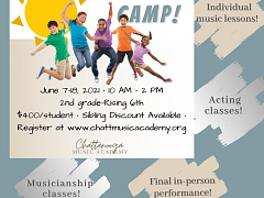 Chattanooga Music Academy's Summer Music Camp!