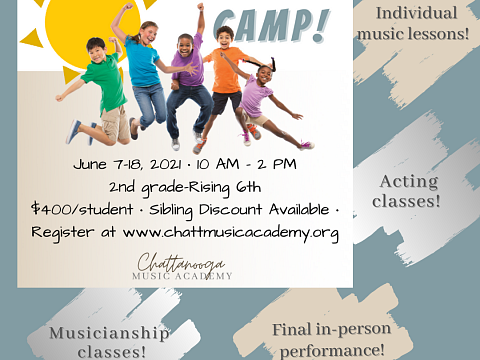 Image: Chattanooga Music Academy's Summer Music Camp!