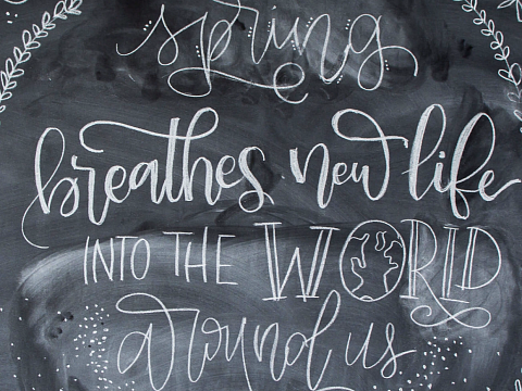 Image: Chalkboard Lettering 101 – IN-PERSON CLASS