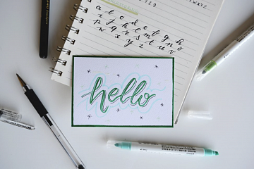 Image: Beginner Handlettering – IN-PERSON CLASS