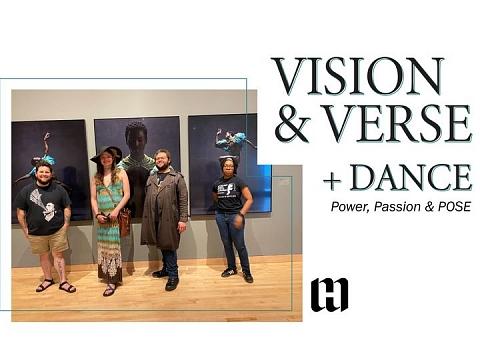 Image: Vision & Verse + Dance: Power, Passion & POSE