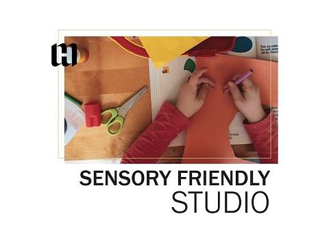 Image: Sensory Friendly Studio: Collage Art