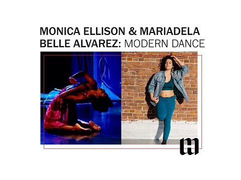 Image: Monica Ellison and Mariadela Belle Alvarez: Modern Dance