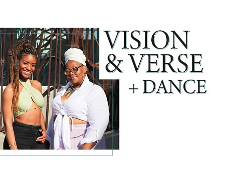 Image: Vision + Verse + Dance: Erika Roberts and Chiara Beck