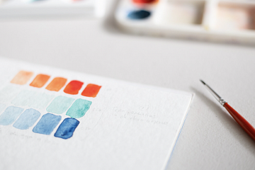 Image: Go with the Flow: Watercolor Abstract – IN-PERSON CLASS