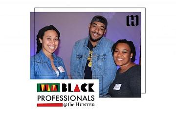 Image: Black Professionals @ the Hunter